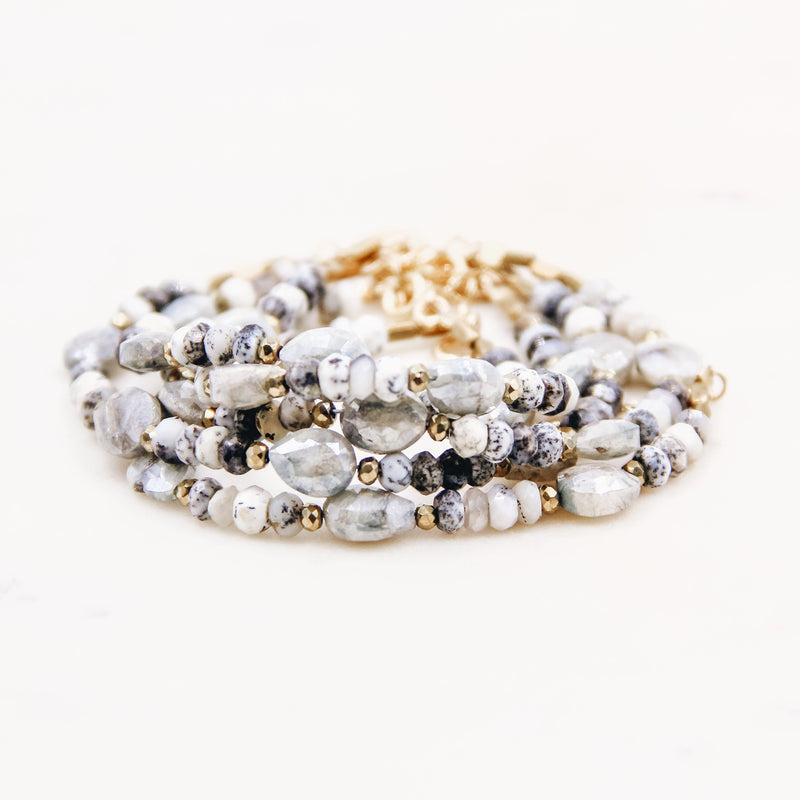 Keep it Neutral Beaded Bracelet