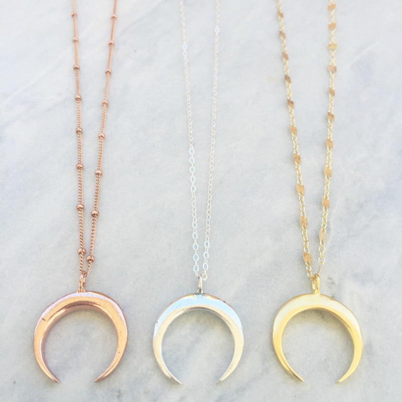 Moon Baby Necklace