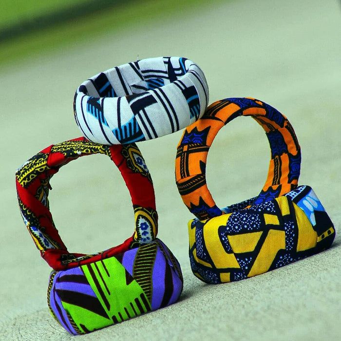 Iyanla Ankara Bangles Collection