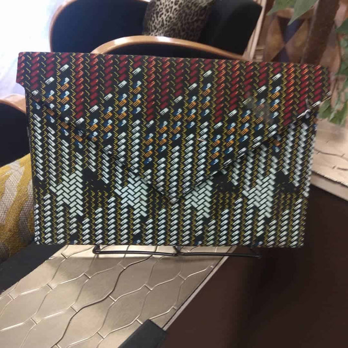 DIDI Ankara Clutch Bag