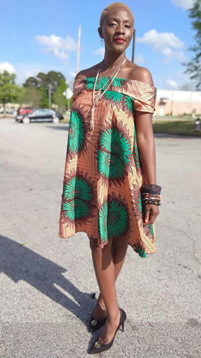 Malkia Royal African Inspired Dress