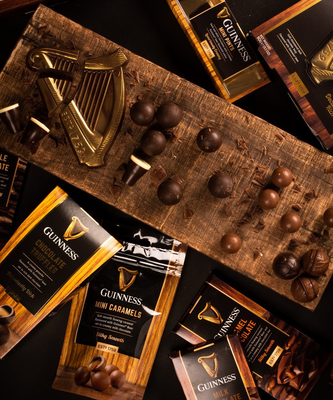 Lir Chocolates Guinness Collection