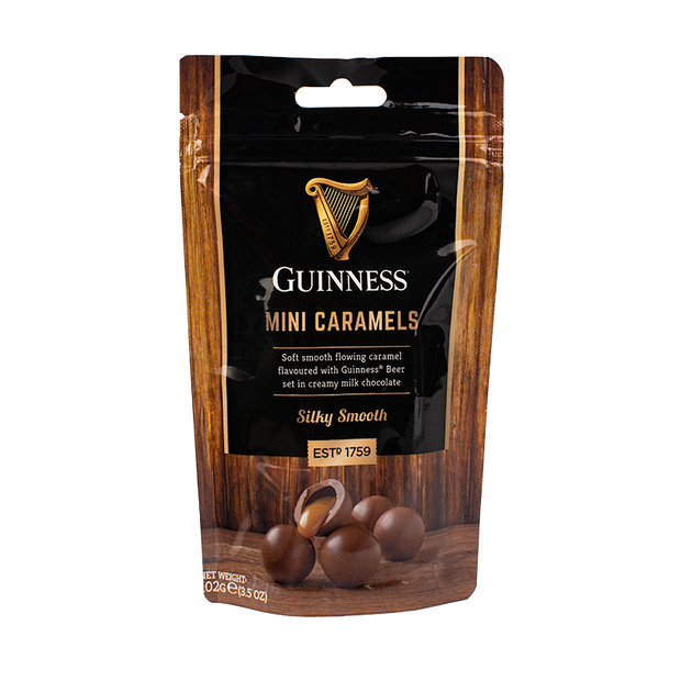 Guinness Mini Caramels Pouch 102g