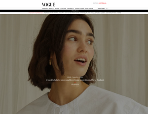 Vogue Australia Online, May 14 2020
