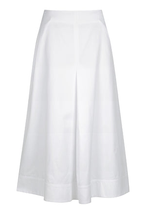 A-line pleat skirt