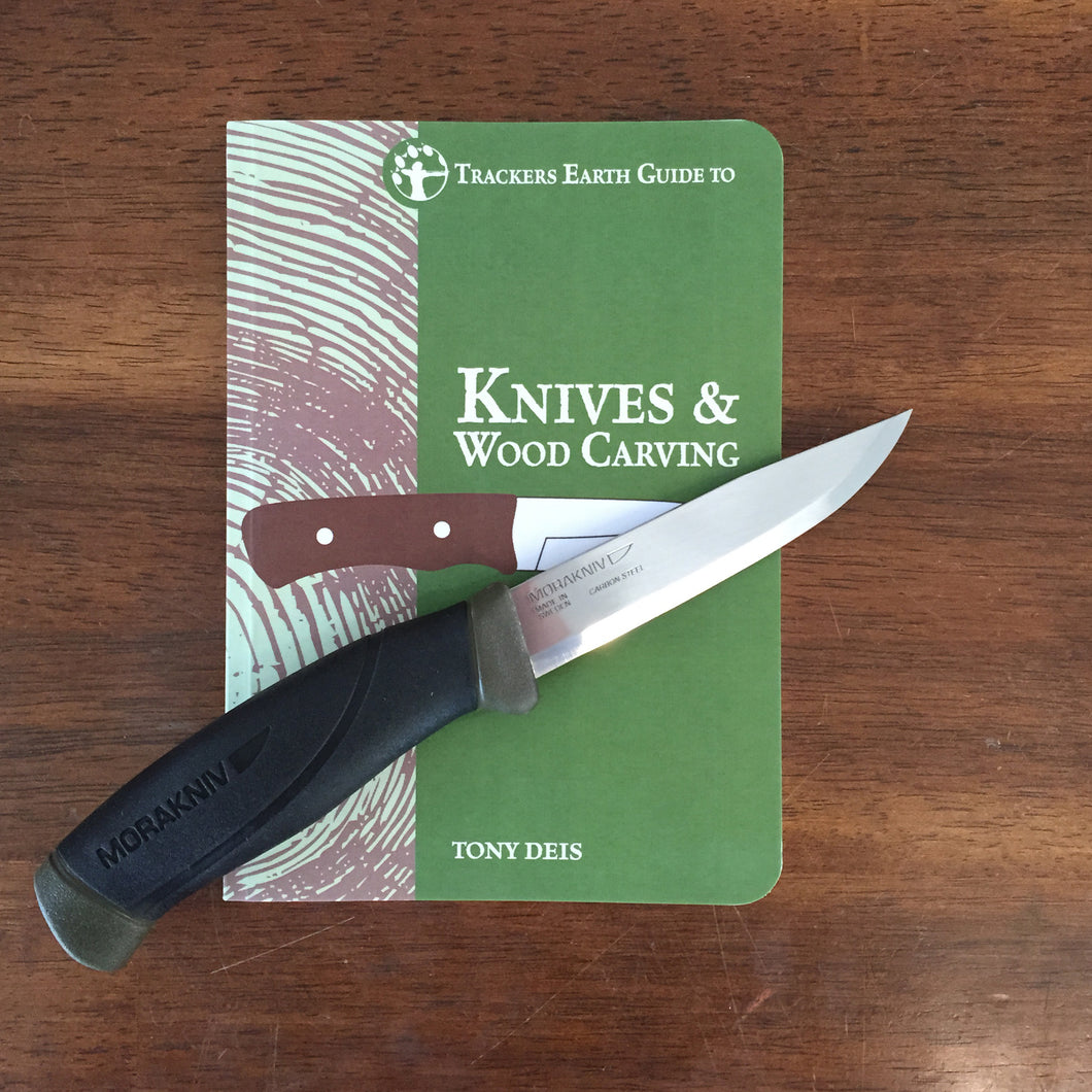 Trackers Knife Book & Mora Knife Combo
