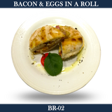Bacon and Eggs in a Roll - BR-02