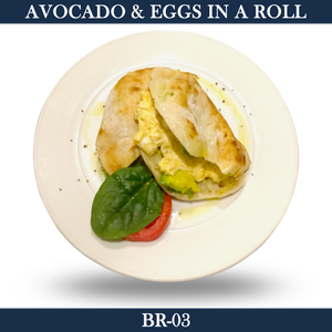 Avocado-Egg in a Roll  - BR-03