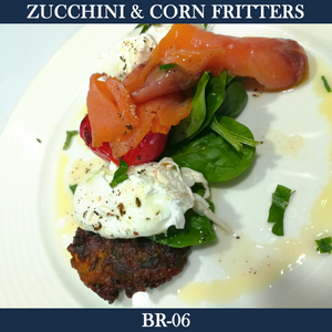 Zucchini and Corn Fritters - BR-06