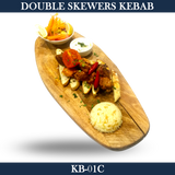 Double Skewers Kebab - KB-01