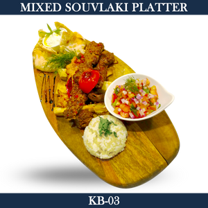 Mixed Souvlaki Platter - KB-03
