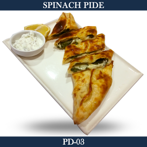 Spinach Pide - PD-03