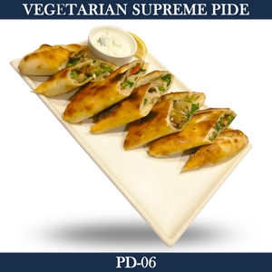 Vegetarian Supreme Pide - PD-06