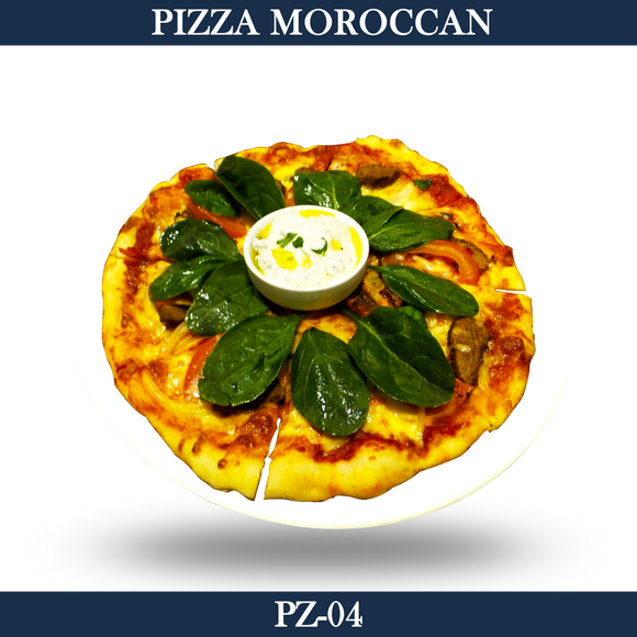 Pizza Moroccan Lamb - PZ-04