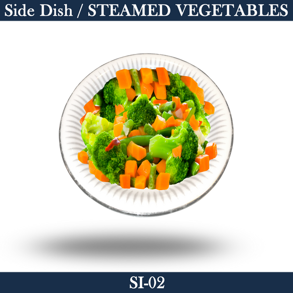 Side-Steamed Vegetables - SI-02