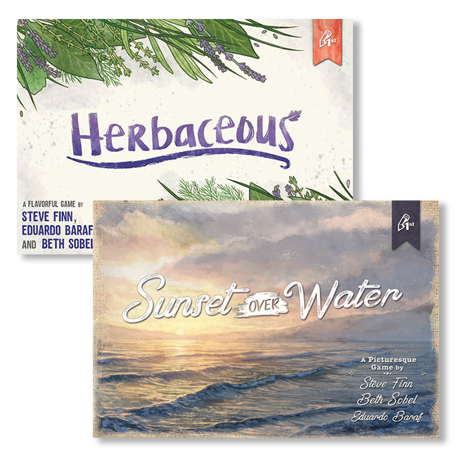 Herbaceous & Sunset Over Water Bundle