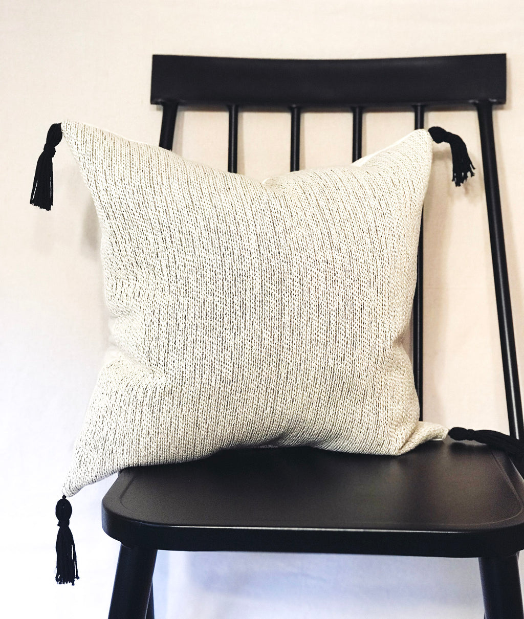 """Bongo"" Tassel Throw Pillow"