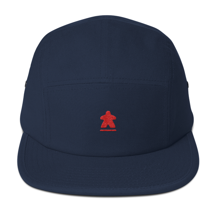 Red Meeple Embroidered Five Panel Cap