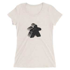 Meeple Ladies' Women's Cut Short Sleeve T-Shirt
