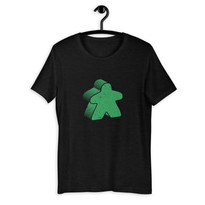 Colored Meeple Board Game T-Shirt