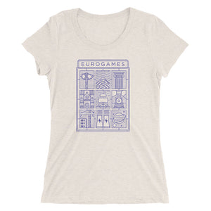 Eurogames Board Game Women's T-Shirt