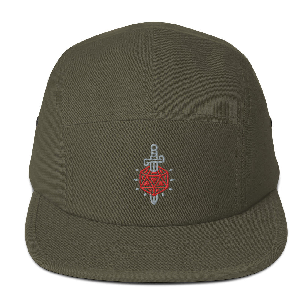 Critical Hit d20 Embroidered Hat
