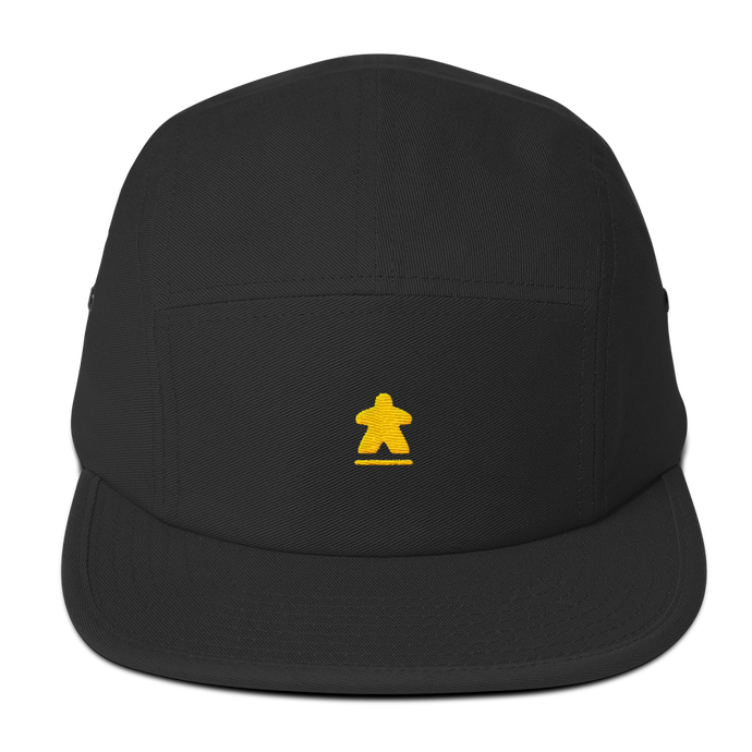 Yellow Meeple Embroidered Hat