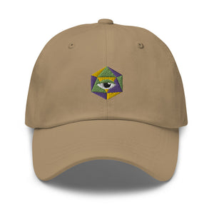 d20 Perception Embroidered Baseball Cap