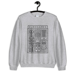 Eurogames Board Game Sweatshirt