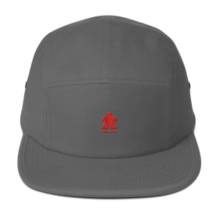 Red Meeple Embroidered Hat