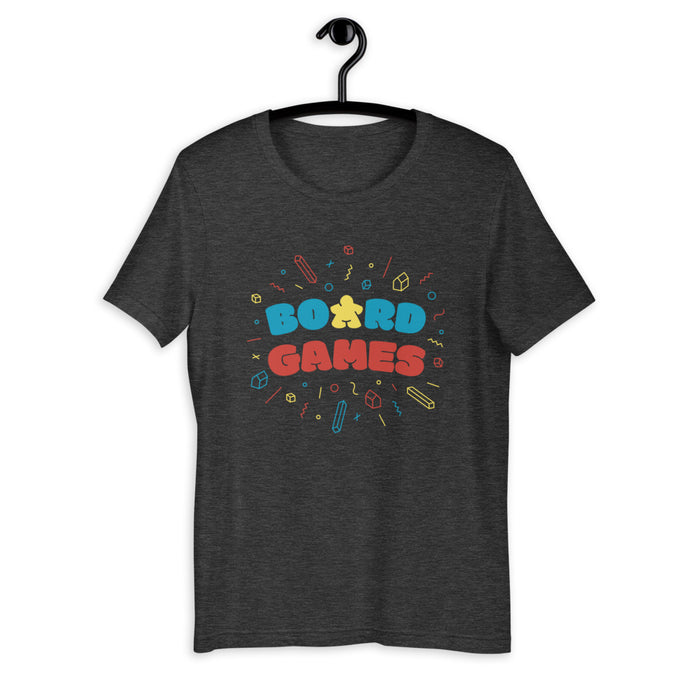 Board Games Short-Sleeve Unisex T-Shirt