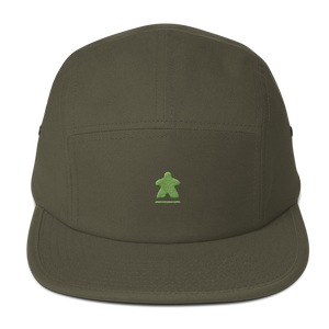 Green Meeple Embroidered Hat