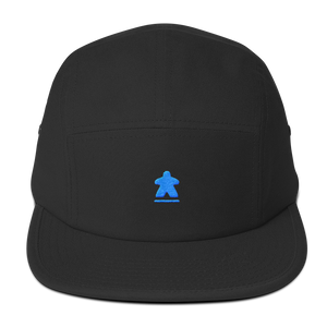 Blue Meeple Embroidered Hat