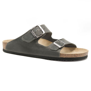 Mens arizona dark grey leather