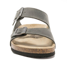 Load image into Gallery viewer, Mens arizona dark grey leather