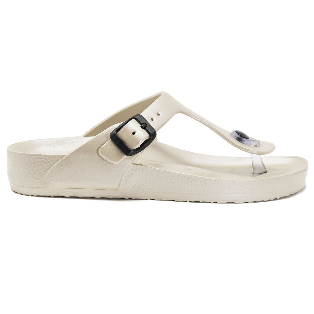Eva Sayonara Women beige waterproof sandals