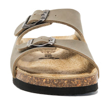 Load image into Gallery viewer, kids arizona sandal Stone letaherette