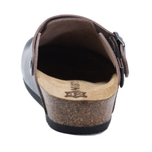 Load image into Gallery viewer, Stockholm Women clogs brown leather Soft - PREMIUM COMFORT