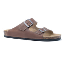 Load image into Gallery viewer, Men's Arizona brown premium leather