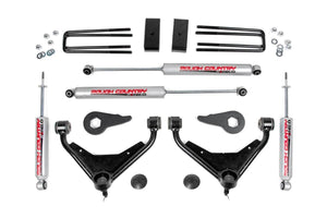 (SKU:8596N2)3IN GM BOLT-ON SUSPENSION LIFT KIT (01-10 2500 PU/SUV 2WD/4WD)