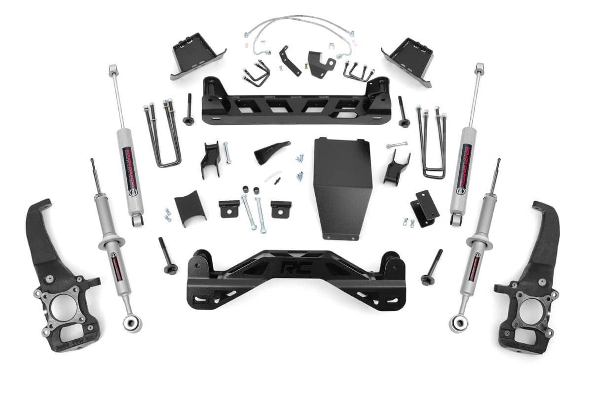 (SKU: 54623) 6IN FORD SUSPENSION LIFT KIT (04-08 F-150 4WD)