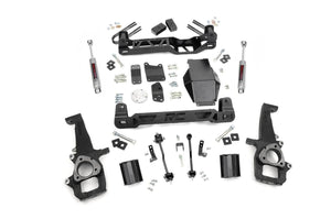 (SKU:326S) 4IN DODGE SUSPENSION LIFT KIT (06-08 RAM 1500 4WD)