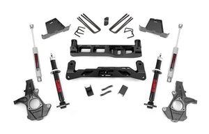 (SKU:263.23) 7.5IN GM SUSPENSION LIFT KIT (07-13 1500 PU 2WD)