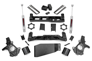 (SKU:262.20) 5IN GM SUSPENSION LIFT KIT (07-13 1500 PU 4WD)