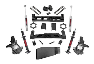(SKU:262.23) 5IN GM SUSPENSION LIFT KIT (07-13 1500 PU 4WD)