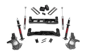 (SKU:261.23) 5IN GM SUSPENSION LIFT KIT (07-13 1500 PU 2WD)
