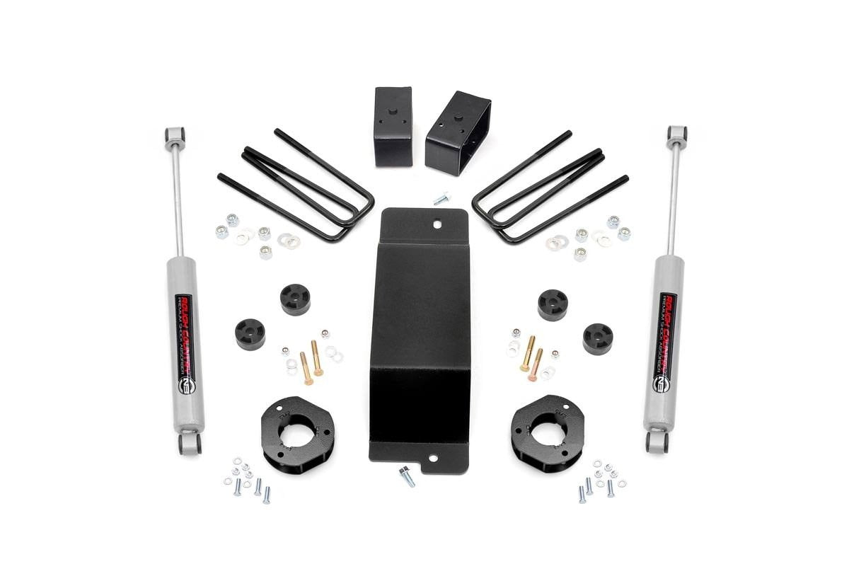 3.5IN GM SUSPENSION LIFT KIT (07-16 1500 PU 4WD)  (Factory Cast Steel Control Arm Models)