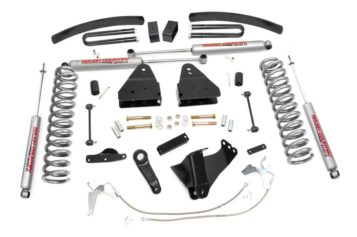 (SKU:597.20) 6IN FORD SUSPENSION LIFT KIT (08-10 F-250/350 4WD)