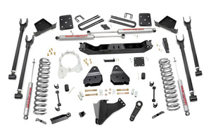 (SKU: 50720) 6IN FORD 4-LINK SUSPENSION LIFT KIT (17-18 F-250/350 4WD | DIESEL)