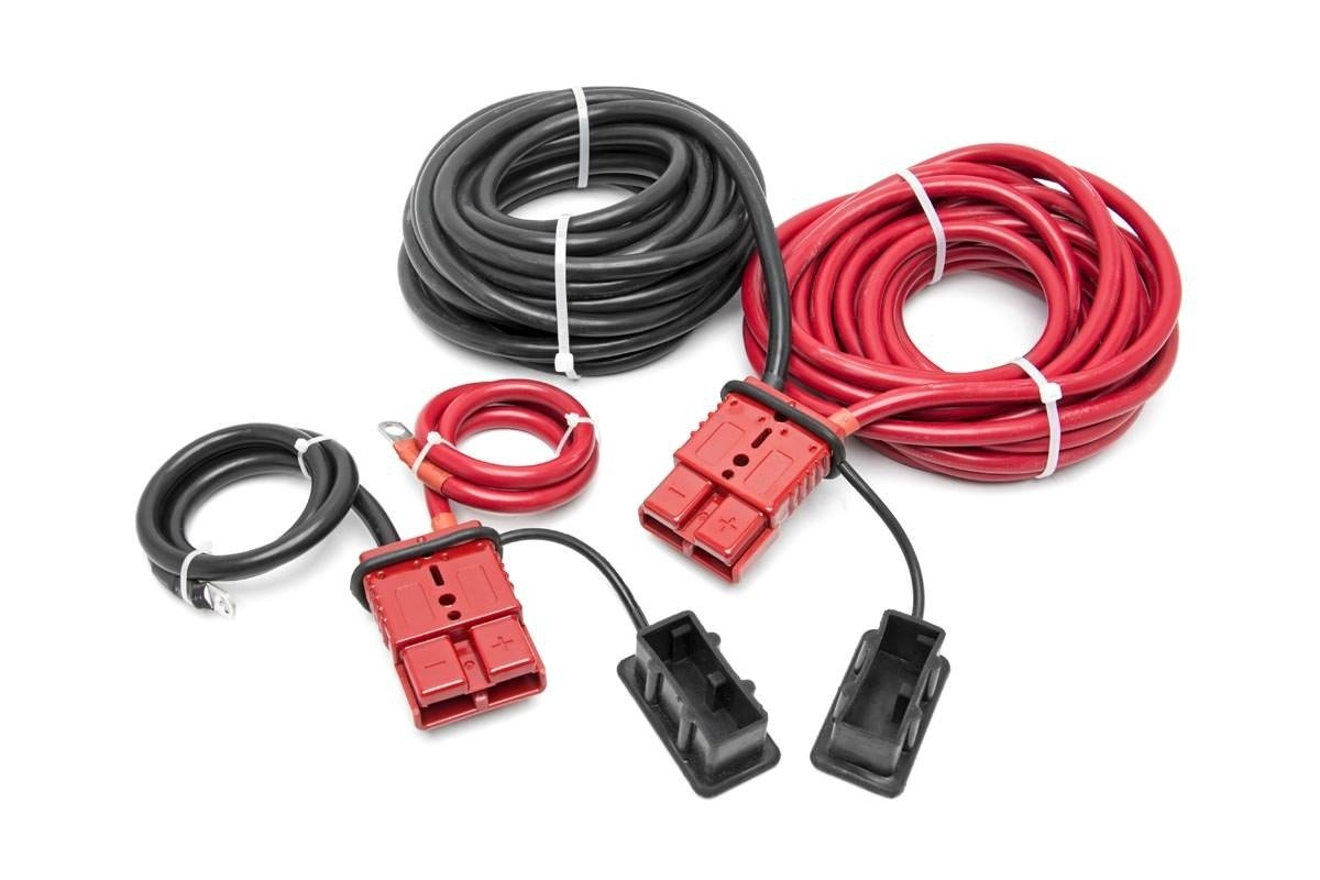 (SKU: RS108) QUICK DISCONNECT WINCH POWER CABLE (24FT)